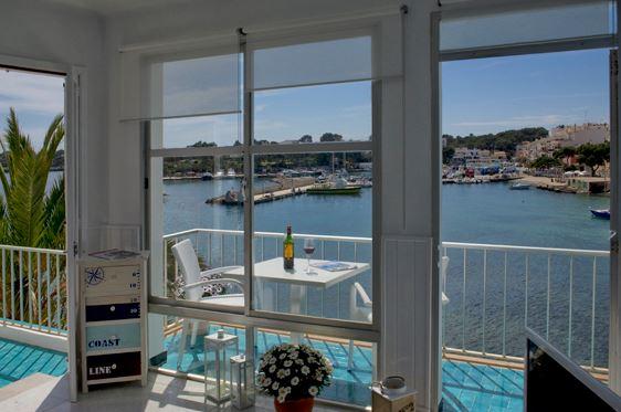 apartamento porto petro mit meerblick und hafenblick, über eine